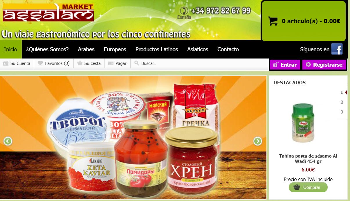 Assalam Market tienda online