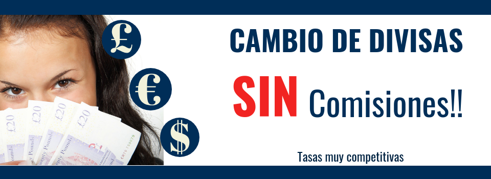Cambio de divisas sin comisiones Money Exchange