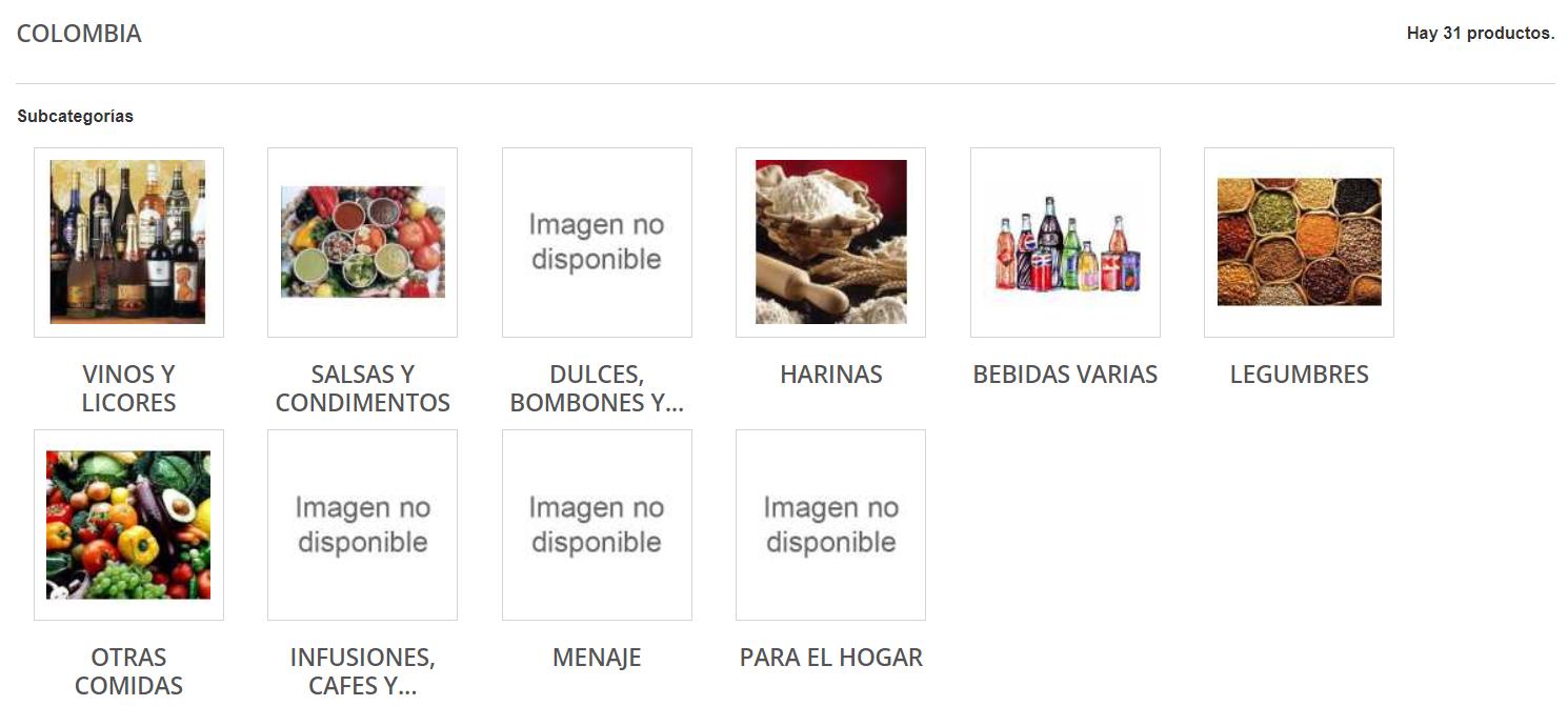 Latincor productos colombianos