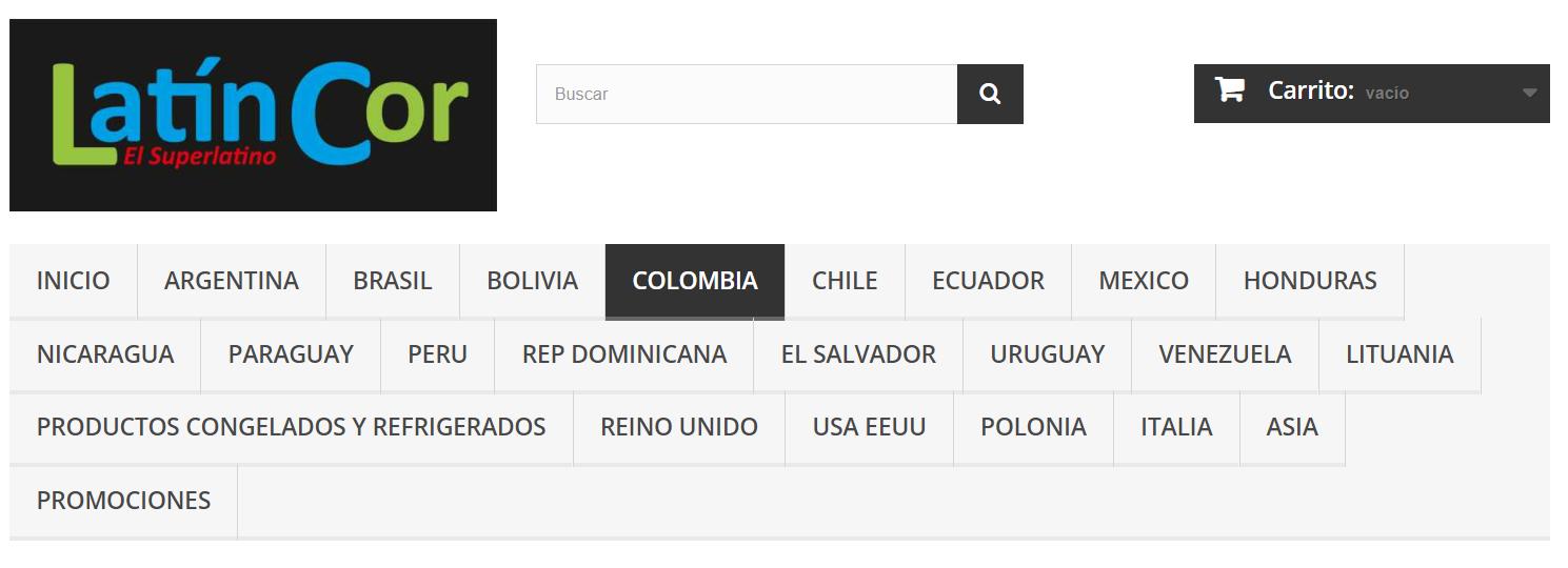 Latincor web