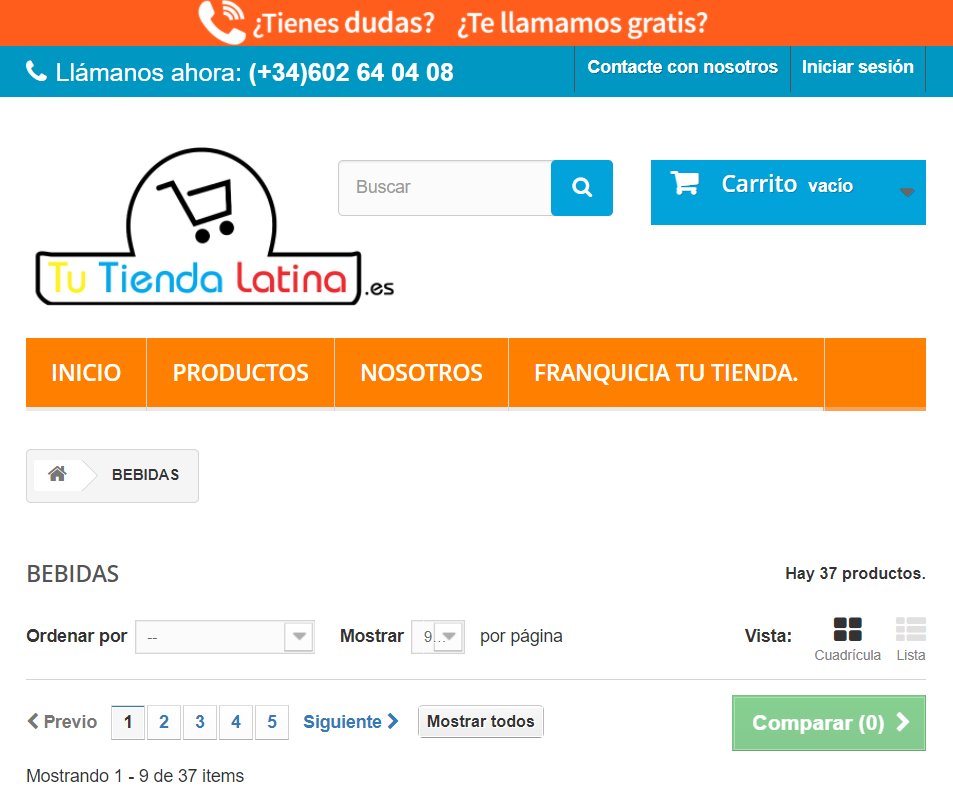 Tu tienda latina es